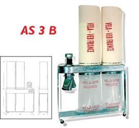 Aspirateurs industriels AS2A / AS3B